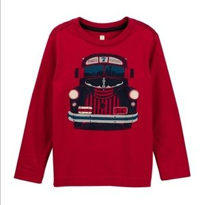 Toddler boys Tea Collection Auto Bus Graphic Tee 5